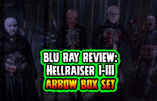 Hellraiser 1-3 Boxset (Arrow Video, Blu Ray, Reg B)