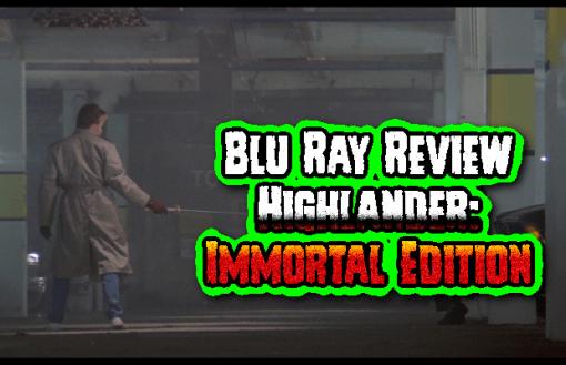 Highlander: Immortal Edition (Reg. B Blu Ray)