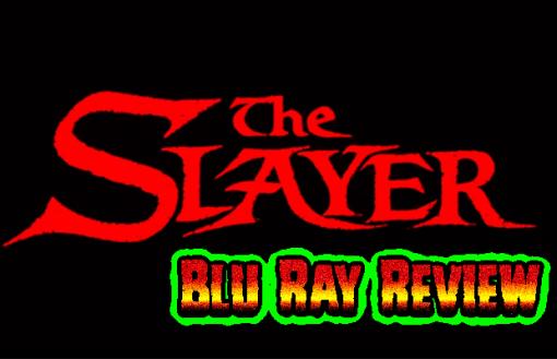 The Slayer (Arrow region free Blu Ray/DVD set)